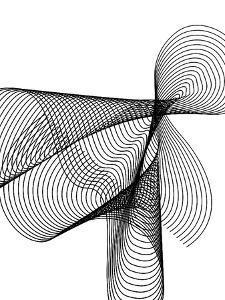 Line Swirl 4 by Indigo Sage Design