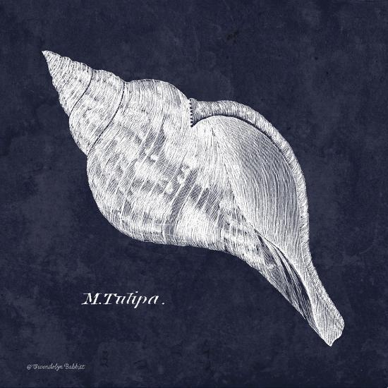 Indigo Shell III-Gwendolyn Babbitt-Art Print