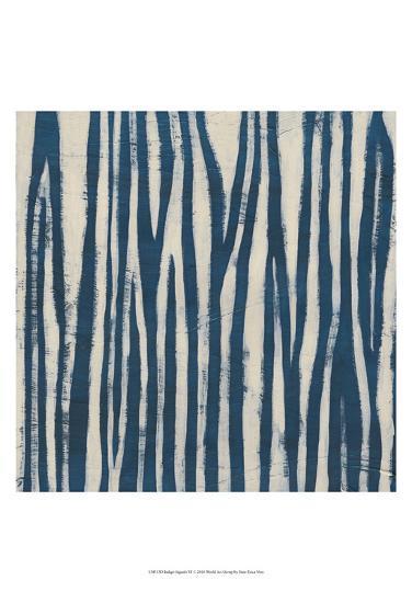 Indigo Signals VI-June Erica Vess-Art Print