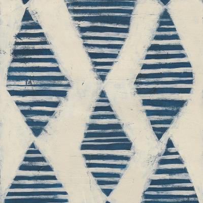 Indigo Signals VII-June Erica Vess-Art Print