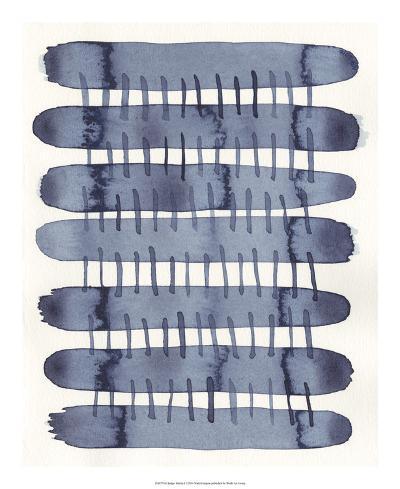 Indigo Stitchy I-Nikki Galapon-Art Print