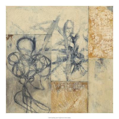 Indigo Strings I-Jennifer Goldberger-Premium Giclee Print