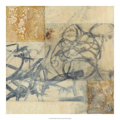 Indigo Strings II-Jennifer Goldberger-Premium Giclee Print