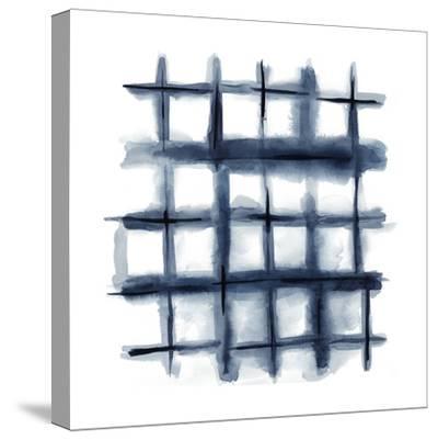 Indigo Study III-Chariklia Zarris-Stretched Canvas Print