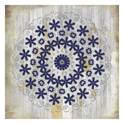 Indigo Tile 2 Art Print By Kimberly Allen Art Com