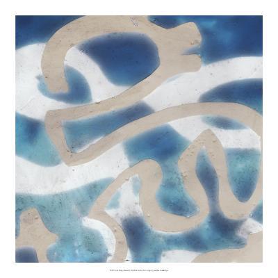 Indigo Tribal III-Jennifer Goldberger-Art Print