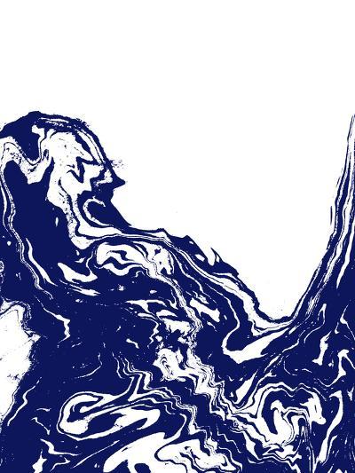 Indigo Wave-Charlotte Winter-Art Print