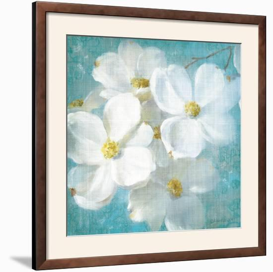 Indiness Blossom Square Vintage II-Danhui Nai-Framed Photographic Print