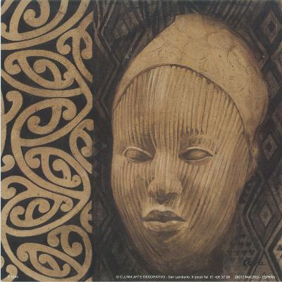 Indio Cabeza IV-Cano-Art Print