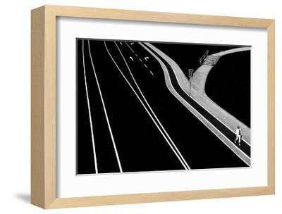 Individual- Samanta-Framed Art Print