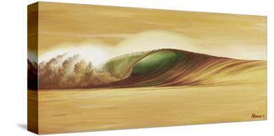 Indo Gold-Marco Almera-Stretched Canvas Print