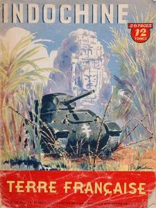 Indochine Terre Francaise', Cover of an Official Booklet on the French Colonies, 1944