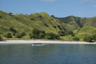 Indonesia, Komodo Island. Komodo NP. Pink Beach Cove, Savu Sea-Cindy Miller Hopkins-Photographic Print