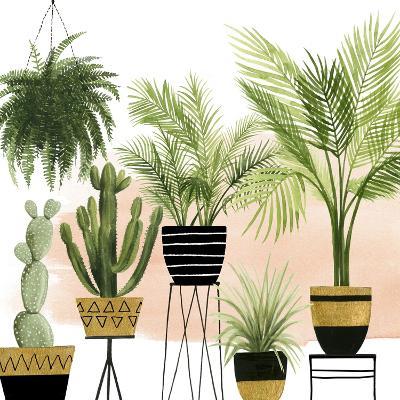 Indoor Oasis II-Grace Popp-Art Print