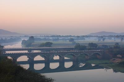 Indryani River-Photograph by Nilanjan Sasmal-Photographic Print