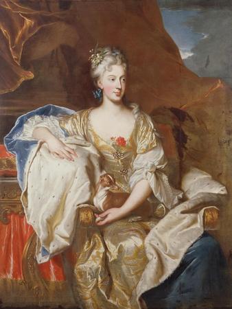 Portrait of Susanne Henriette D'Elbeuf, Duchess of Mantua