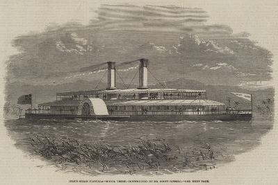Indus Steam Flotilla, Model Vessel Constructed by Mr Scott Russell--Giclee Print