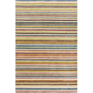 Indus Valley Area Rug - Gold/Teal 5' x 8'