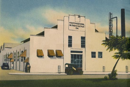 'Industria Nacional de Grasas Vegetales S. A. Barranquilla', c1940s-Unknown-Giclee Print