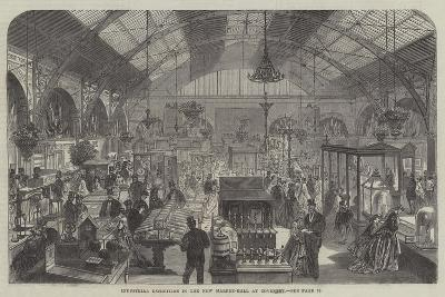 Industrial Exhibition in the New Market-Hall at Coventry--Giclee Print