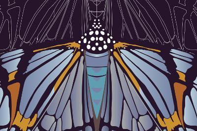 Industrial Iris-Belen Mena-Giant Art Print