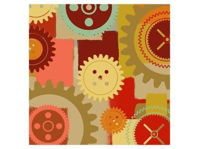 Industrial Ornament I-Yashna-Art Print