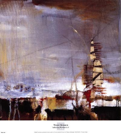 Industrial Revolution I-Terri Burris-Art Print