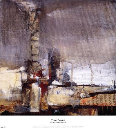 Industrial Revolution II-Terri Burris-Art Print