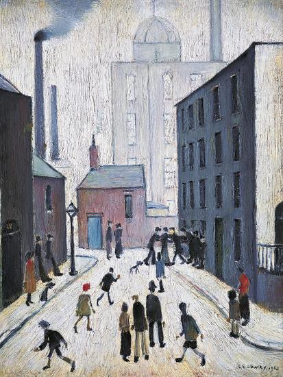 Industrial Scene, 1953-Laurence Stephen Lowry-Giclee Print
