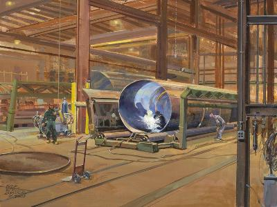 Industrial Theatre-Peter Snyder-Giclee Print