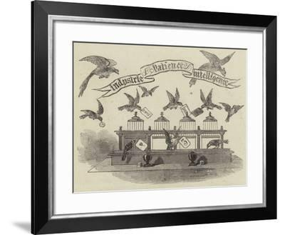 Industrie Patience Intelligence--Framed Giclee Print