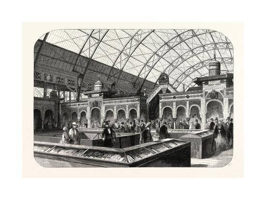 Industry Exhibition Universal. the Oriental Products. Paris--Giclee Print