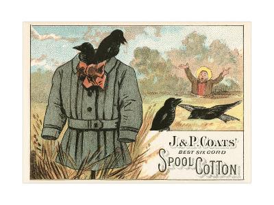 Ineffective Scarecrow--Art Print