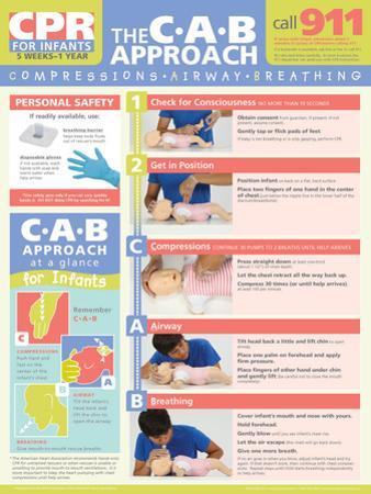 Infant CPR Poster