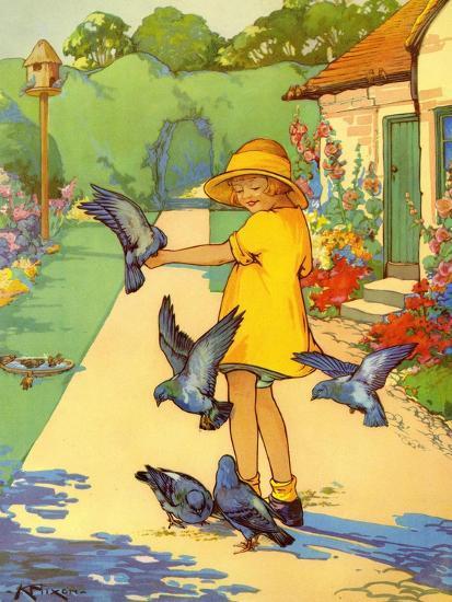 Infant School Illustrations, UK--Giclee Print