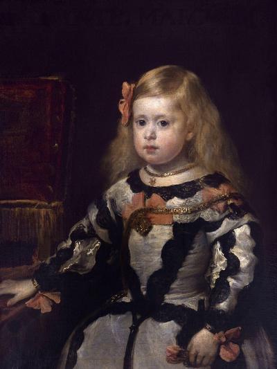 Infanta Margaret of Austria, Philip Iv's Daughter-Diego Velazquez-Giclee Print