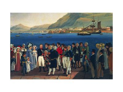 Infante Carlos, Duke of Calabria's Departure from Palermo to Naples-Giovanni Cobianchi-Giclee Print