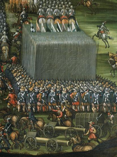 Infantry and Artillery Formation--Giclee Print