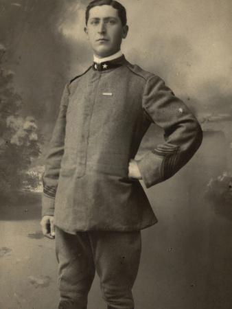 Infantry Soldier in Uniform--Photographic Print