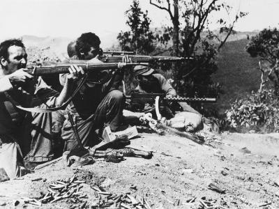Infantrymen of the U.S. Mars Task Force - 1944-Robert Hunt-Photographic Print