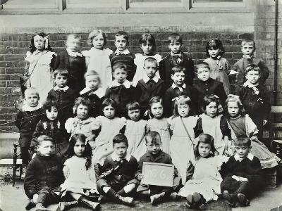 Infants School Class, London, C1900-C1915--Photographic Print