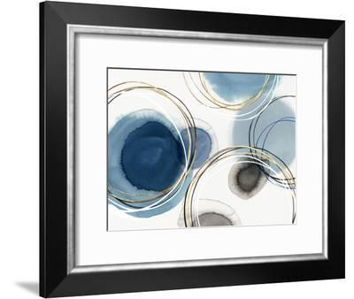 Infinity Indigo I-PI Creative Art-Framed Art Print