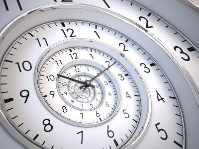 Infinity Time Spiral-Sashkin-Art Print