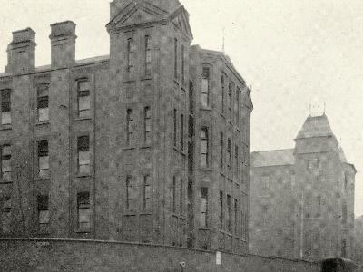 Infirmary Ward Blocks at Hackney Union Workhouse on Homerton High Street-Peter Higginbotham-Photographic Print