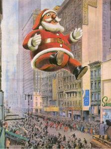 Inflatable Father Christmas Balloon in New York
