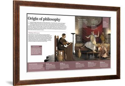 Infographic About the Greek Origin of Philosophy, Socrates (5th to 4th Century BC)
