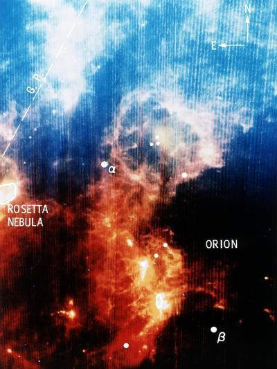 Infra-Red View of Constellation of Orion--Giclee Print