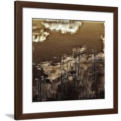 Infrared Pond 11-Jean-François Dupuis-Framed Art Print