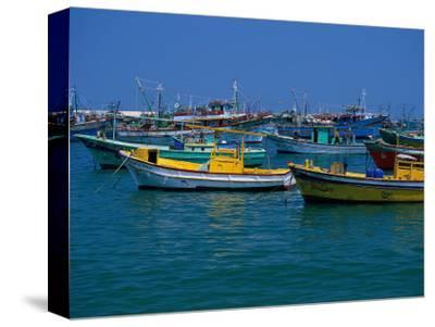 Colorful Fishing Boats, Alexandria, Egypt