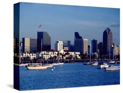 Skyline and Boats, San Diego, CA